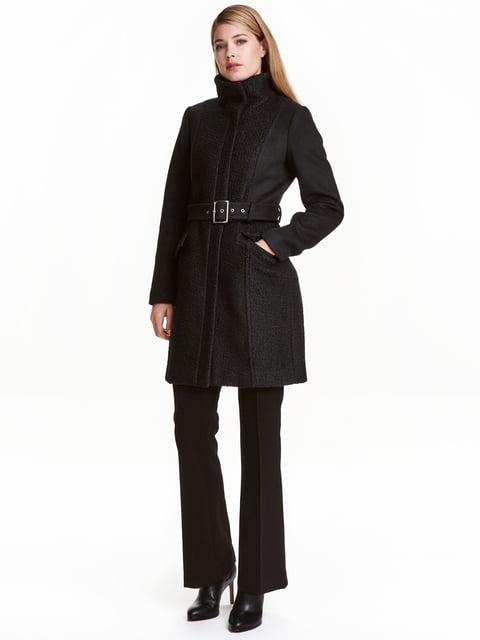 Пальто черное H&M 4808498