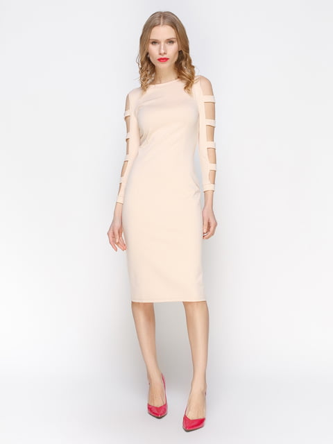 Сукня бежева Atelier private 2981664