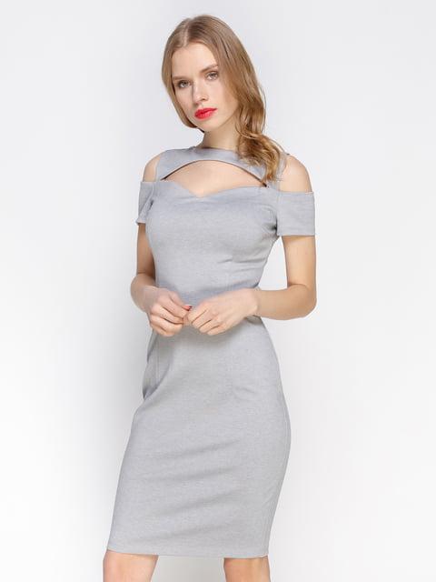 Сукня сірого кольору Atelier private 3098655