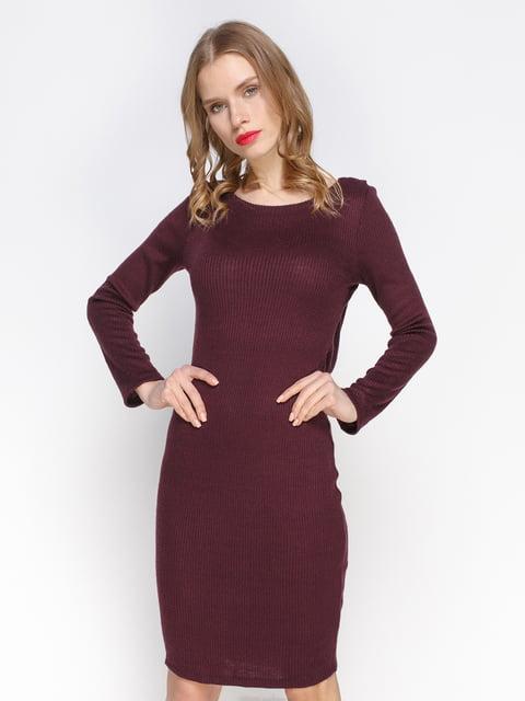 Сукня кольору марсала Atelier private 2981651