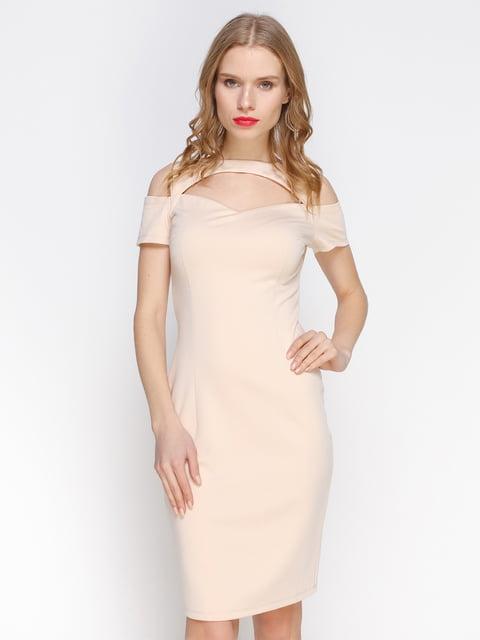 Сукня абрикосового кольору Atelier private 3155129