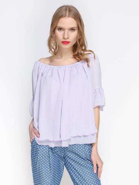Блуза бузкова Atelier private 3155096
