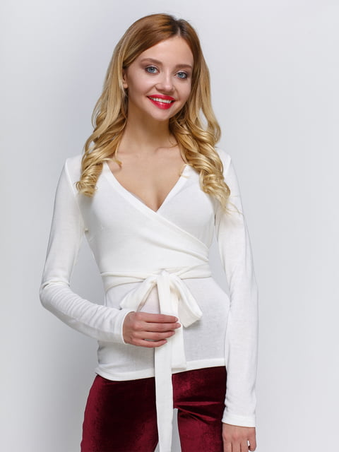 Пуловер молочного кольору Atelier private 2981673