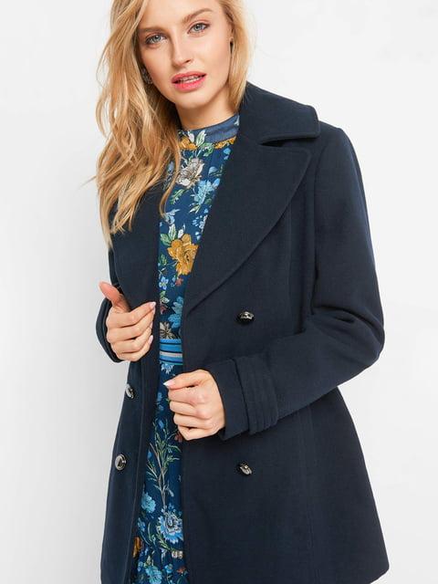 Пальто темно-синее Orsay 4836757