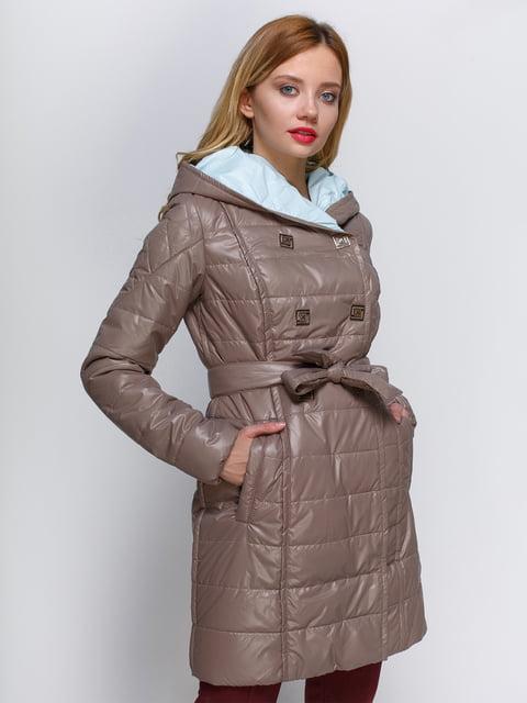 Куртка темно-бежева Atelier private 2127861