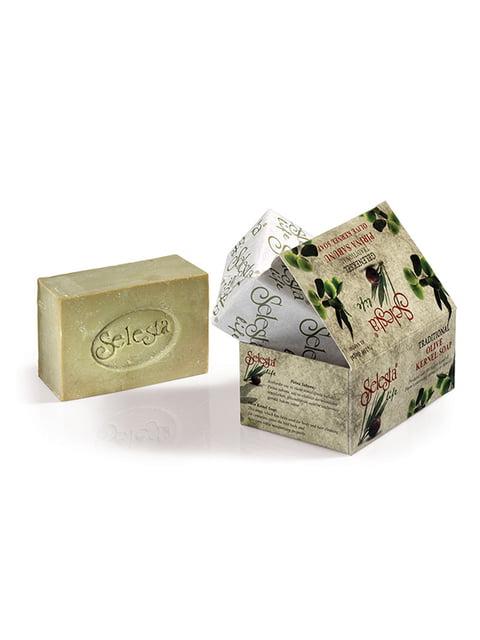 Натуральное традиционное турецкое мыло с жмыха из оливок (200 г) Selesta Life 4836784