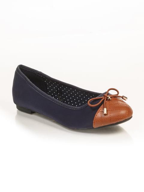 Балетки сине-коричневые Springfield 3010357