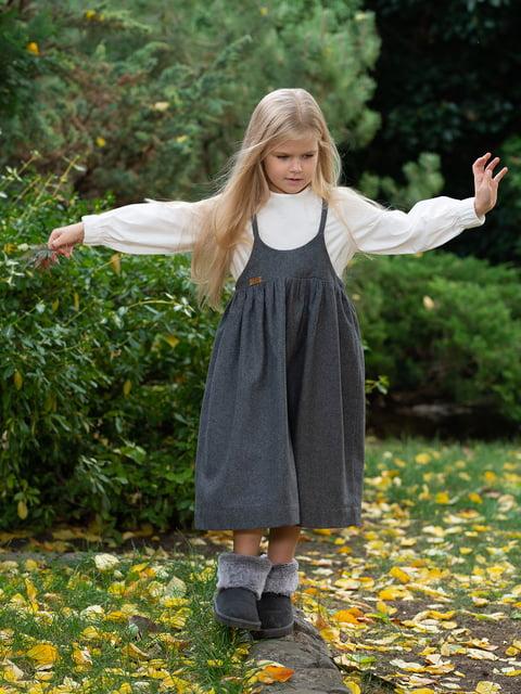 Блуза молочного цвета I AM 4840216