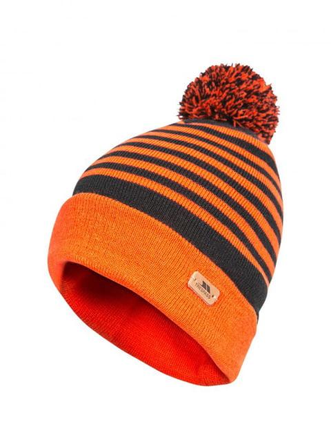 Шапка помаранчева в смужку Trespass 4770519