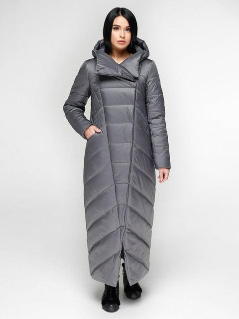 Пальто серое Favoritti 4828114
