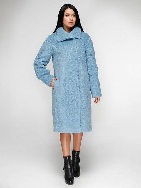 Пальто голубое Favoritti 4828117