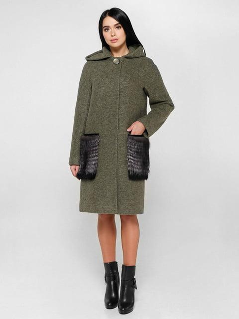 Пальто зеленое Favoritti 4828121
