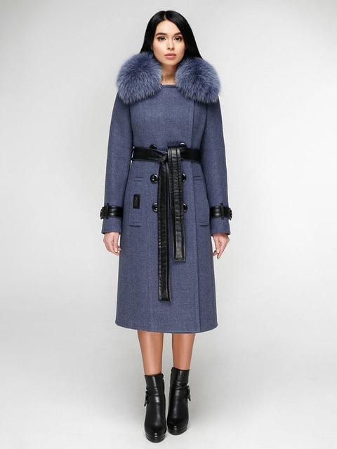 Пальто голубое Favoritti 4828122