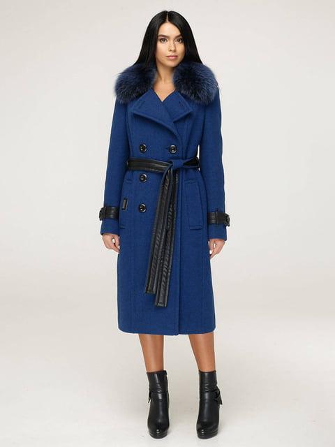 Пальто синее Favoritti 4828127
