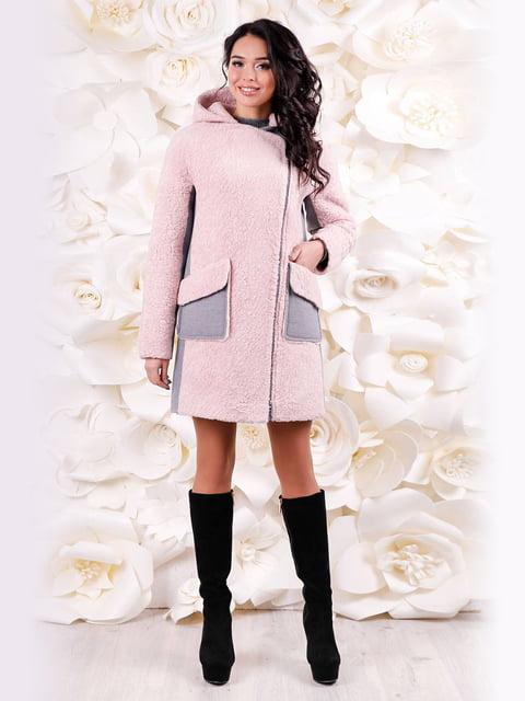 Пальто розовое Favoritti 4655224