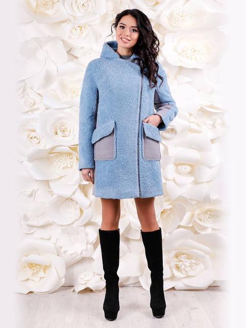 Пальто голубое Favoritti 4655226