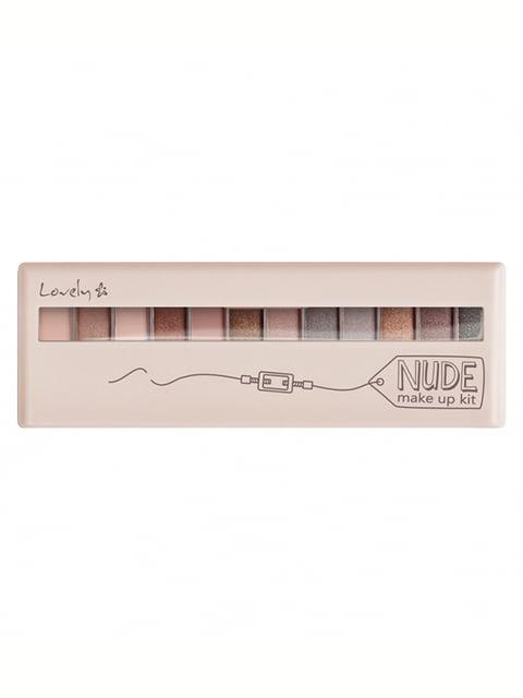 Палетка тіней для повік Nude Make Up Kit Lovely 4841390