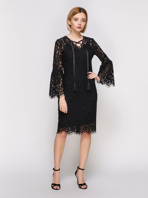 Платье черное Dolcedonna 4810429
