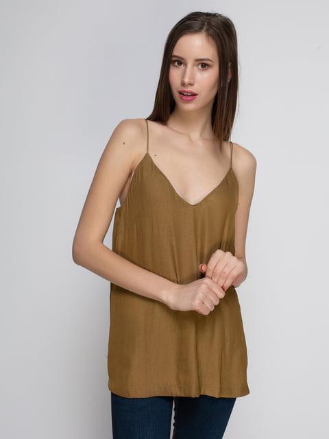 Топ коричневий H&M 4543891