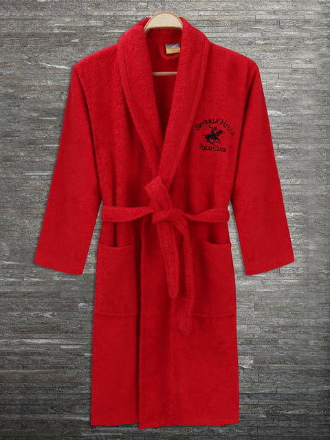 Халат красный Beverly Hills Polo Club 4840442