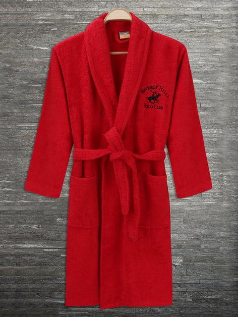 Халат красный Beverly Hills Polo Club 4840443