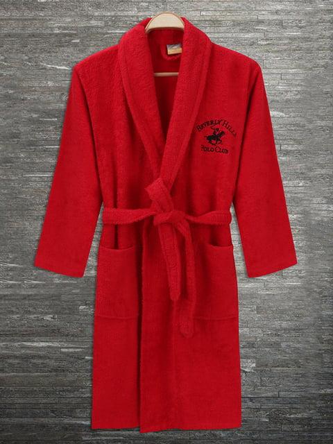 Халат красный Beverly Hills Polo Club 4840447