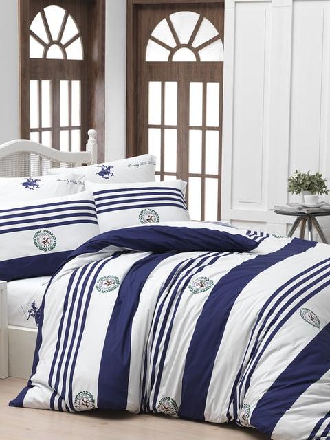 Комплект постільної білизни двоспальний (євро) Beverly Hills Polo Club 4842647