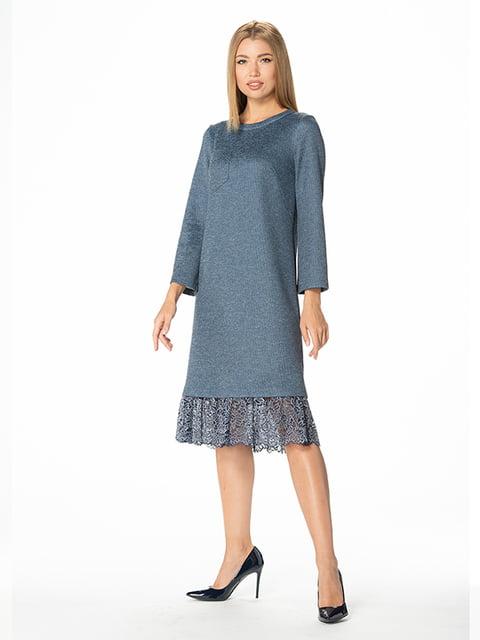 Платье синее Lesya 4836840