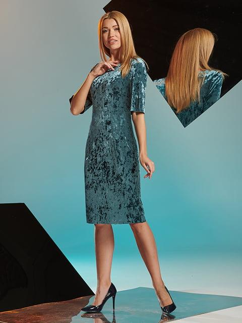 Платье бирюзовое Lesya 4836843