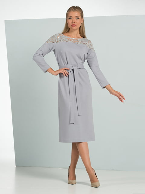 Сукня сіра Lesya 4836848