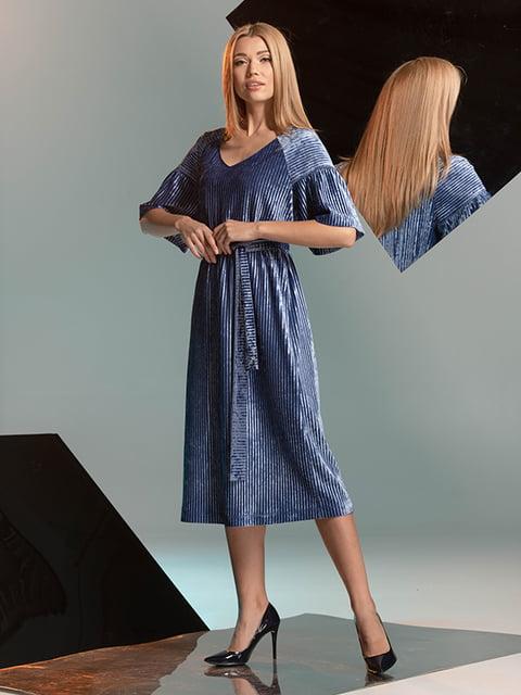Платье голубое Lesya 4836907