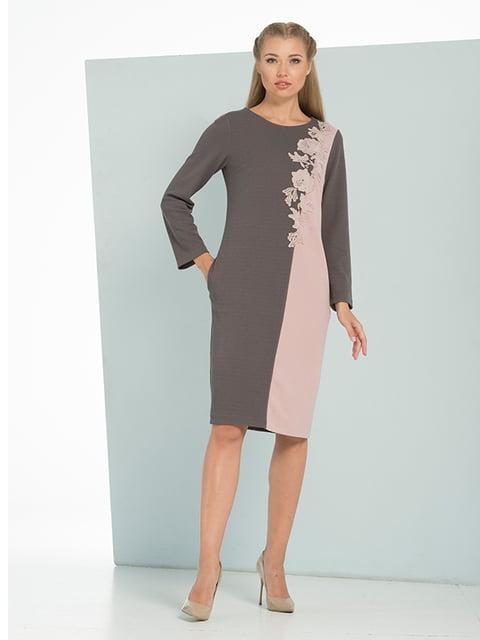 Платье двухцветное Lesya 4836918