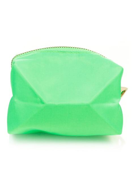 Косметичка зелена Mango 2391646