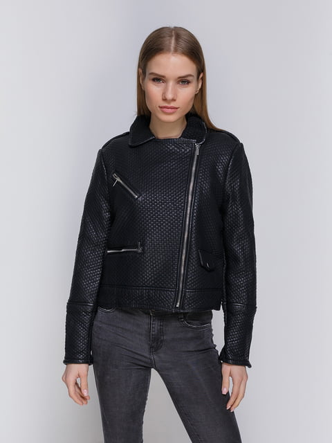 Куртка чорна Mango 3216634