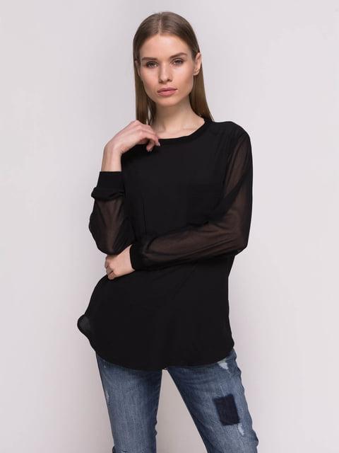Блуза чорна Mango 2351573
