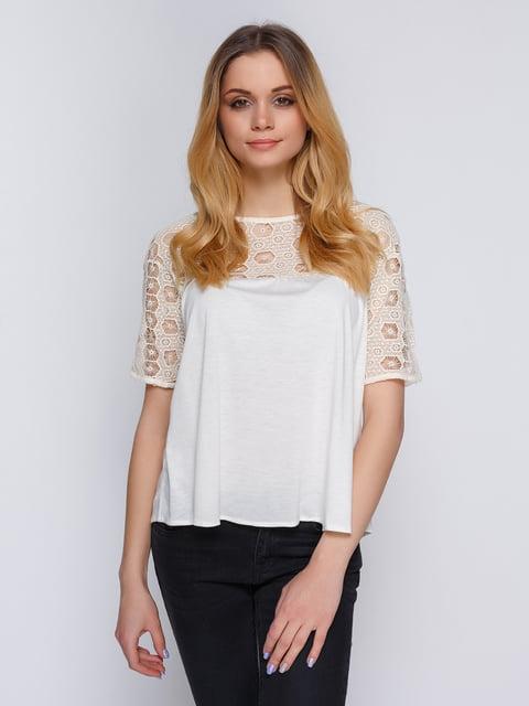 Блуза біла Mango 3776975