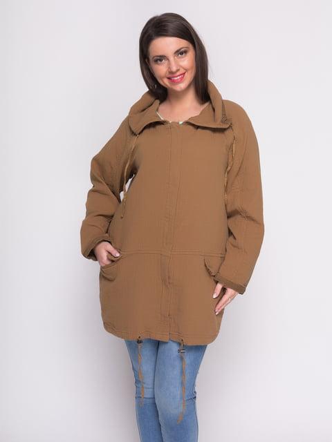 Куртка коричневая Mango 2385974