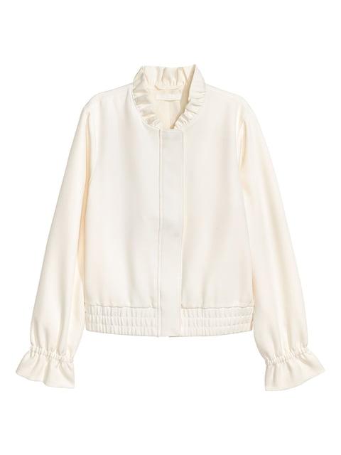 Куртка белая H&M 4840145
