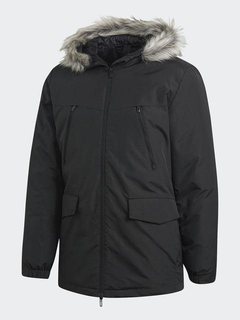Куртка чорна Adidas 4696592