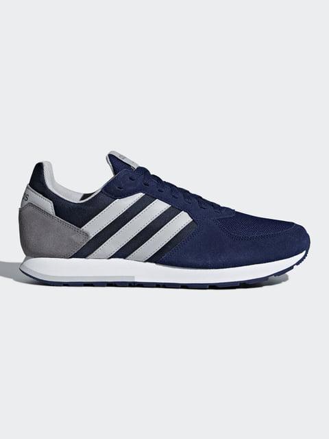 Кроссовки синие Adidas 4830143