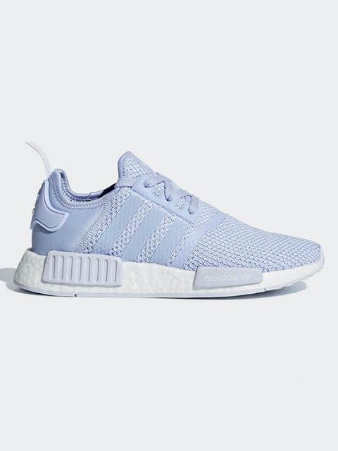 Кроссовки голубые Adidas 4601405