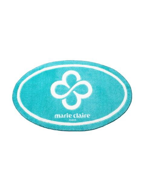 Коврик для ванной голубой (66х107 см) Marie Claire 2331669