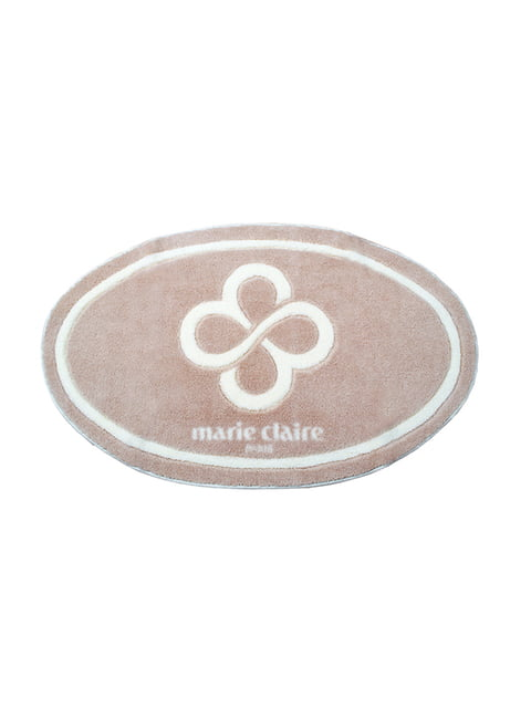 Коврик для ванной бежевый (66х107 см) Marie Claire 2331670