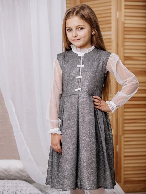 Комплект: блуза и сарафан Gusseva KIDS 4858016
