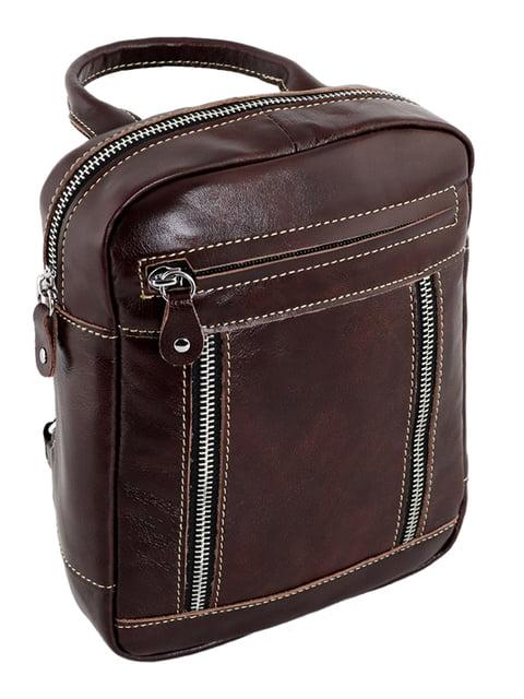 Рюкзак коричневий Traum 4859267