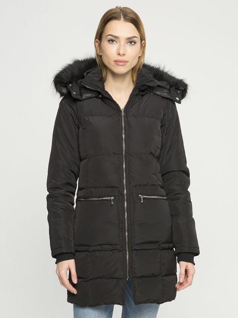 Пальто черное Giorgio di Mare 4859468