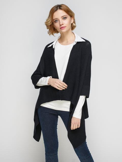 Пончо черно-бежевое Zara 4527329