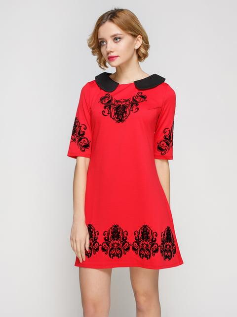 Сукня червоного кольору My Monday 2183466