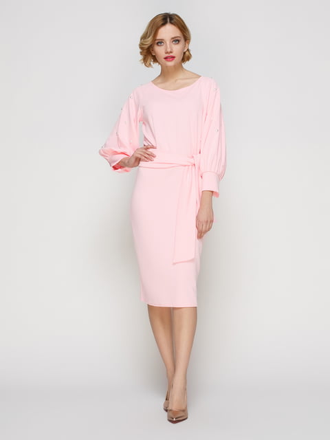Платье розовое My Monday 3182297