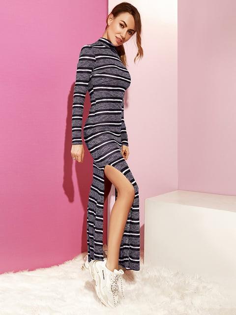 Платье темно-синее в полоску Gepur 4860183